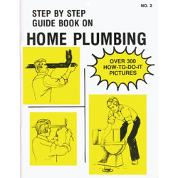 Step by Step Guide Home Plumbing Book 2 Pack of 25