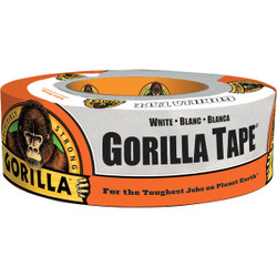 Gorilla 1.88 In. x 10 Yd. Heavy-Duty Duct Tape, White 6010002 Pack of 6