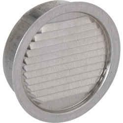 Air Vent 3 In. Aluminum Mini Louver Soffit Vent (6 Count) 50002 Pack of 6
