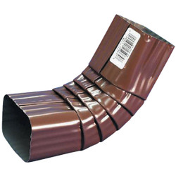 Spectra Metals 2 x 3 In. Aluminum Brown Front Downspout Elbow 3AELRTB Pack of 30