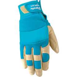 Wells Lamont HydraHyde Women's Large Cowhide Leather Adjustable Wrist Work Glove Pack of 24