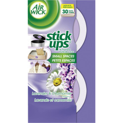 Air Wick Stick Ups Fresh Water Small Spaces Solid Air Freshener (2-Count) Pack of 12