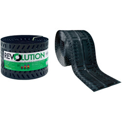 Cor-A-Vent Revolution 11 In. x 20 Ft. Rolled Ridge Vent REV-11 Pack of 36