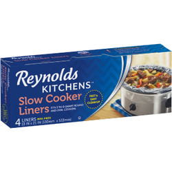 Reynolds Kitchens Slow Cooker Liners (4-Pack) G20504 Pack of 12