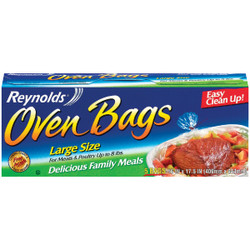 Reynolds 16 In. x 17-1/2 In. Oven Bag (5 Count) G10531 Pack of 12