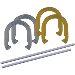 Franklin 24 In. Steel Official Size Family Horseshoe Set 50021 Pack of 2