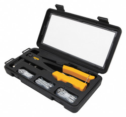 Stanley Rivet Gun Toolkit,Manual,Steel  STHT72179