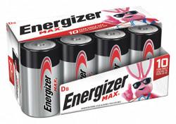 Energizer Battery,Alkaline,D,Premium,PK8  E95FP-8
