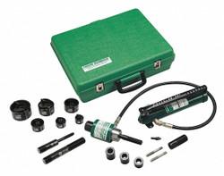 Greenlee Hydraulic Punch Driver Set,10 ga. Steel  7306SB