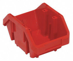 Quantum Storage Systems Cross-Stacking Bin,9-1/2 In. L,5 In. H  QP965RD