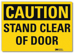 Lyle Safety Sign,7inx10in,Reflective Sheeting  U4-1677-RD_10X7