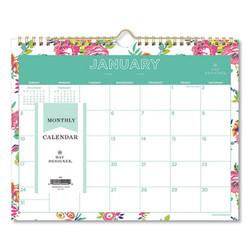 Blue Sky Calendar,Wl,Ddwhfl,11x8.7 103629