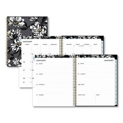 Blue Sky Baccara Dark Cyo Weekly/Monthly Planner, 11 X 8.5, 2022 110211