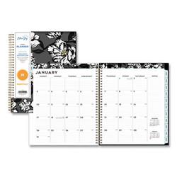 Blue Sky Baccara Dark Cyo Monthly Planner, 10 X 8, 2022 110216