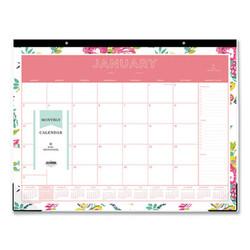 Blue Sky Day Designer Desk Pad Calendar, 22 X 17, 2022 103631