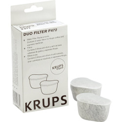 Krups Coffeemaker FME, FMF, 466, 467 Water Filter (2-Pack) 472-00