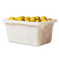 Extreme Performance Food/Tote Box, 12 1/2 Gallon, White
