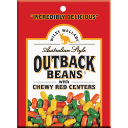 Wiley Wallaby Red Licorice 10 Oz. Outback Beans 114568 Pack of 10