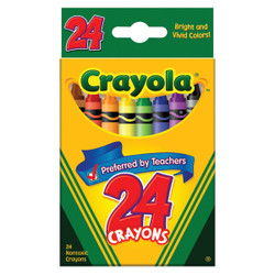 Crayola Traditional Crayons (24-Pack) 52-3024 Pack of 12
