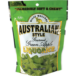 Wiley Wallaby Green Apple Liquorice 10 Oz. Candy 116316 Pack of 10