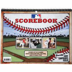 Franklin Baseball and Softball Score Book 19187 Pack of 12