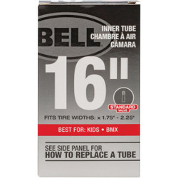 Bell 16 In. Standard Premium Quality Rubber Bicycle Tube 7109059 Pack of 6