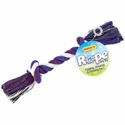 Westminster Pet Ruffin' it Medium Multi-Colored Rope Tug Dog Toy 18236 Pack of 6
