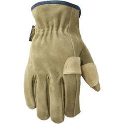 Wells Lamont HydraHyde Men's XL Suede Leather Work Glove 1019XL Pack of 3