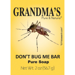 Grandma's Don't Bug Me Insect Repellent 2 Oz. Bar Soap 67023 Pack of 12