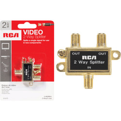 RCA 2-Way Coaxial Splitter VH47R Pack of 6