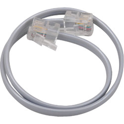 RCA 1 Ft. Silver Phone Cord TP130R Pack of 6