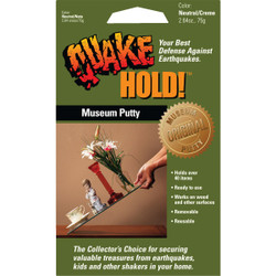 Quake Hold 2.64 Oz. Anchoring Putty 88111 Pack of 24