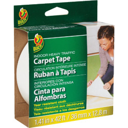 Duck Heavy Traffic 1.5 In. x 42 Ft. Indoor Carpet Tape 286375 Pack of 12