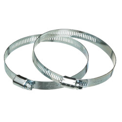 Dundas Jafine 6 In. Metal Duct Clamp 2MC6E Pack of 20