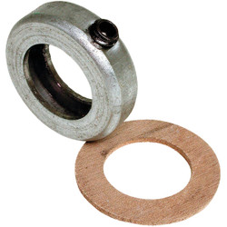 Dial 1 In. Steel Collar & Leather Washer 6846 Pack of 10