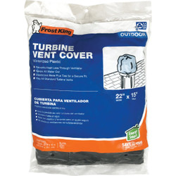 Frost King's Winterized Plastic Turbine Vent Cover TVC1 Pack of 12