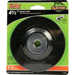 Gator 4-1/2 In. Power Angle Grinder Backing Pad 3017 Pack of 10
