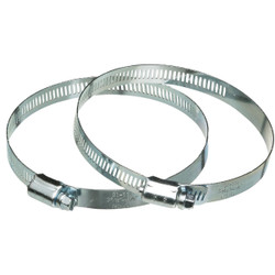 Dundas Jafine 4 In. Metal Duct Clamp 2MC4E Pack of 20