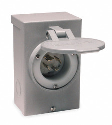 Reliance Outdoor Power Inlet Box,30 Amps  PB30