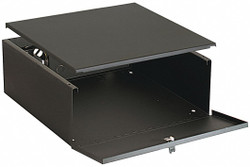 Video Mount Products DVR lock box with lock and fan  DVR-LB1