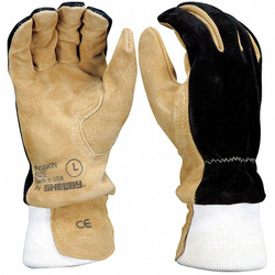 Shelby Firefighters Gloves,XL,Pigskin,PR  5002 XL