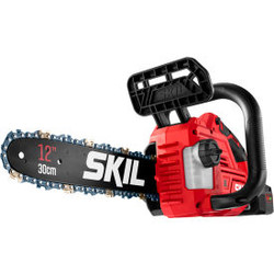 """Skil CS4562B-10 PWR CORE 20 Brushless 12"""" Chain Saw With 4.0Ah Battery & Charger"""