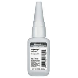 Zip Grip Gpe 100 Cyanoacrylate Adhesives, 1 Oz