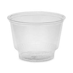 Pactiv 8oz Clear Pet Plastic Sundae Cups 15/60 YPS8C