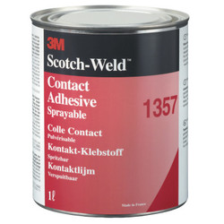 Scotch-Weld Neoprene High Performance Contact Adhesive 1357, Gray