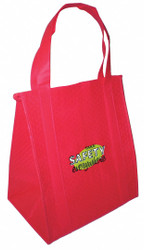 The Marek Group Insulated Tote Bag,Red,13 x 15 in  BG1315R