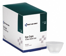 Physicianscare Eye Cup,Non-Sterile,Clear,Plastic  7-1100