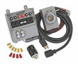 Reliance Manual Transfer Switch,30A,125/250V  31406CRK