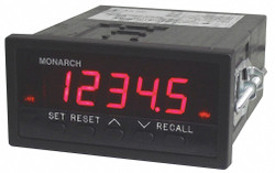 Monarch Panel tachometer,0 to 5 VDC Output  ACT-3X-1-1-3-1-1-0