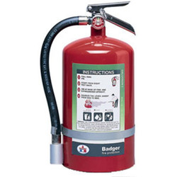 Badger™ Extra 15.5 lb Halotron® I Fire Extinguisher w/ Wall Hook